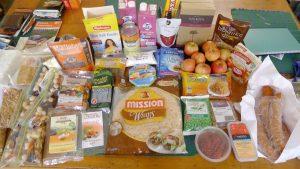 nourriture randonnée