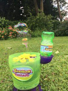 machine à bulles de jardin