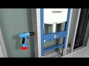 installation bati support geberit